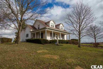 Mercer County Single Family Home For Sale: 3665 Bohon Rd