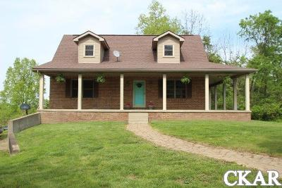 Anderson County, Estill County, Fayette County, Harrison County, Jackson County, Jessamine County, Knox County, Laurel County, Lee County, Leslie County, Madison County, Marion County, Russell County, Taylor County, Washington County, Woodford County Single Family Home For Sale: 1210 Herndon Rd