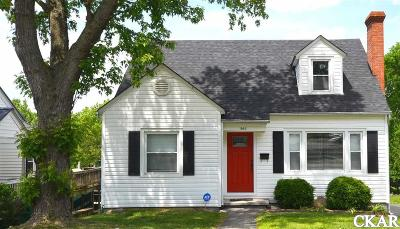 Mercer County Single Family Home For Sale: 545 Mooreland Avenue