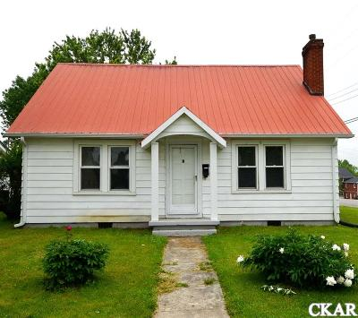 Mercer County Single Family Home For Sale: 476 W Office Street
