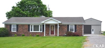 Mercer County Single Family Home For Sale: 325 Goodlett Road