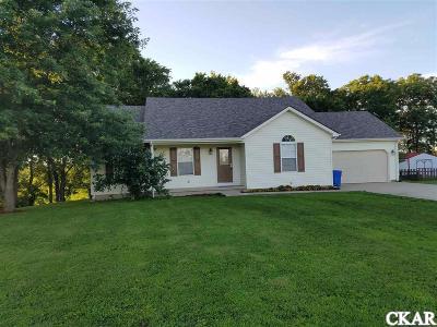 Boyle County, Casey County, Garrard County, Lincoln County, Pulaski County, Rockcastle County Single Family Home For Sale: 186 Amber Lane