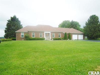 Boyle County Single Family Home For Sale: 3495 Lancaster Rd.