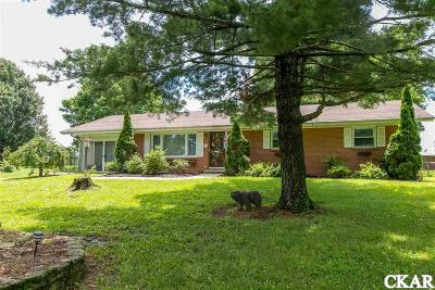 Mercer County Single Family Home For Sale: 674 Pleasant Hill Dr