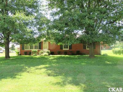 Boyle County, Casey County, Garrard County, Lincoln County, Pulaski County, Rockcastle County Single Family Home For Sale: 1011 Navahoe Trail
