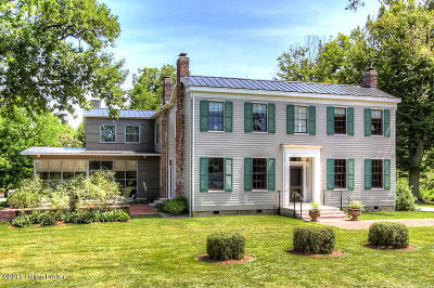 Glenview Single Family Home For Sale: 4508 River Rd