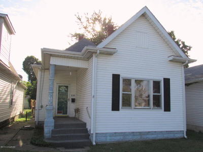 New Albany Single Family Home For Sale: 339 Jay St