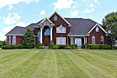 Shelbyville Single Family Home For Sale: 3661 Taylorsville Rd