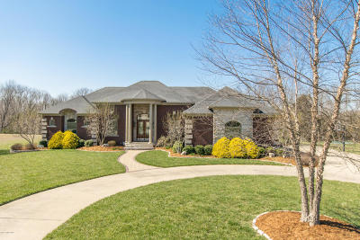 Oldham County Single Family Home For Sale: 3201 Overlook Ridge Rd