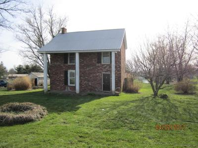 Shelby County Single Family Home Active Under Contract: 575 Morris Clark Rd