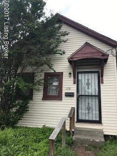 Jefferson County Single Family Home For Sale: 1731 Hale Ave