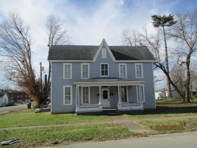Carroll County Single Family Home For Sale: 416 Sixth St