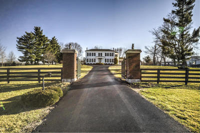 Shelby County Farm For Sale: 1615 Harrington Mill Rd