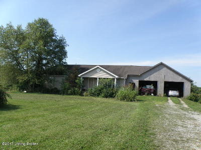 Spencer County Single Family Home For Sale: 537 Cotton Ln