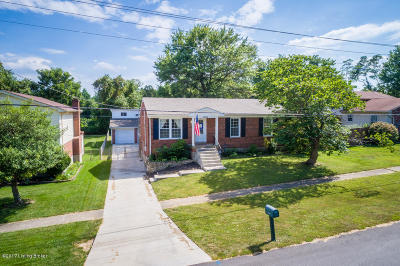 Jeffersontown Single Family Home For Sale: 10202 St. Rene Rd