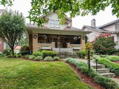 Highlands Single Family Home For Sale: 2114 Boulevard Napoleon