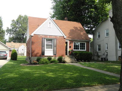 St Matthews Single Family Home For Sale: 3505 Hycliffe Ave