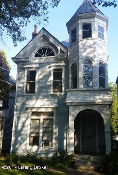 Louisville Rental For Rent: 2208 Longest Ave #1