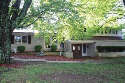 Elizabethtown Single Family Home For Sale: 5630 S Wilson Rd