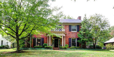 Louisville Single Family Home For Sale: 1708 Sulgrave Rd