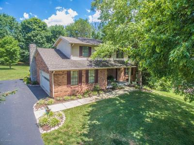Jeffersonville Single Family Home For Sale: 5773 Lentzier Trace