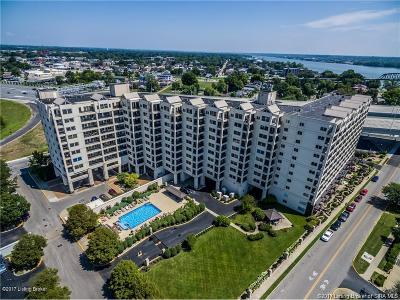 Jeffersonville Condo/Townhouse For Sale: 1 Riverpointe Plaza #906