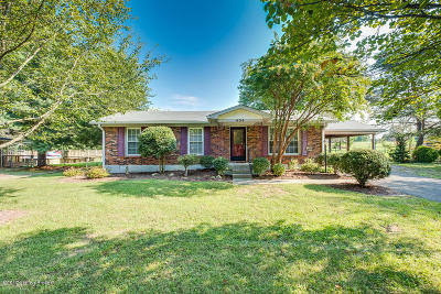 Mt Washington Single Family Home For Sale: 404 Fisher Ln