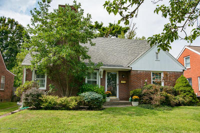 Louisville Single Family Home For Sale: 512 Fairlawn Rd