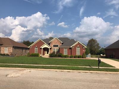 Bullitt County Rental For Rent: 156 N Cole Ridge Dr