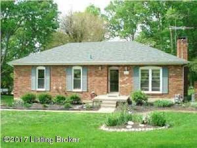 Oldham County Rental For Rent: 1031 Forest Ln