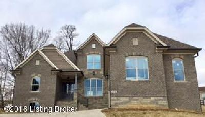 Louisville Single Family Home For Sale: Lot 10 Academy Estates