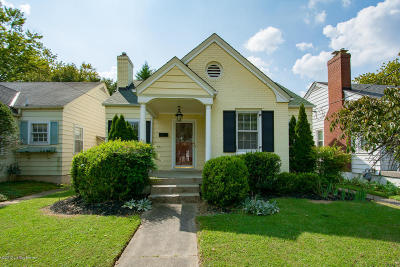 Louisville KY Single Family Home For Sale: $187,500