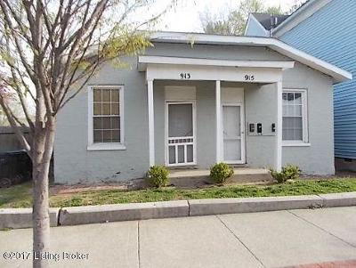Louisville Rental For Rent: 915 E Muhammad Ali Blvd