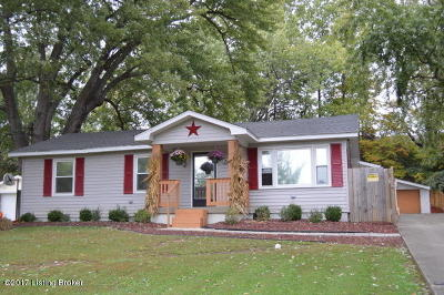 Louisville Single Family Home For Sale: 6809 Triangle Dr