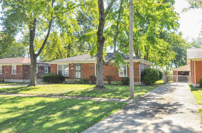 Louisville KY Single Family Home For Sale: $126,000