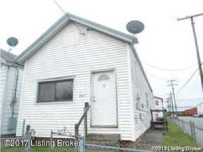 Louisville KY Single Family Home For Sale: $26,000