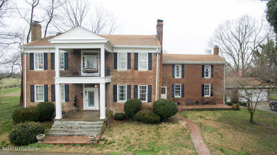 Shelby County Farm For Sale: 1520 Cropper Rd