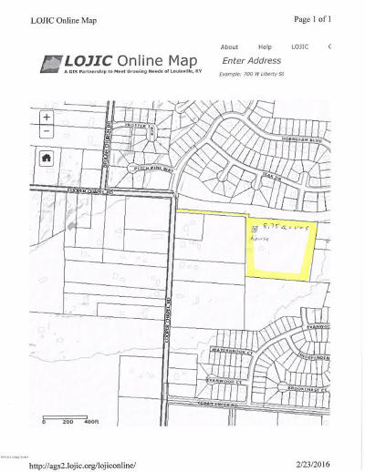 Louisville Residential Lots & Land For Sale: 8101 Cooper Chapel Rd