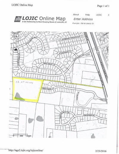 Louisville Residential Lots & Land For Sale: 8602 Old Bardstown Rd