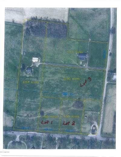 Shelby County Residential Lots & Land For Sale: Lot 3 Scott Station Rd