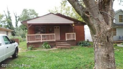 Lyndon Single Family Home For Sale: 1708 Pershing Ave