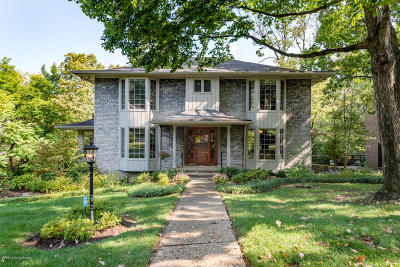 Louisville Single Family Home Active Under Contract: 3001 Juniper Hill Rd