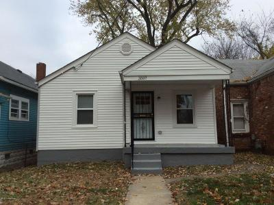 Louisville Single Family Home For Sale: 3507 W Muhammad Ali Blvd