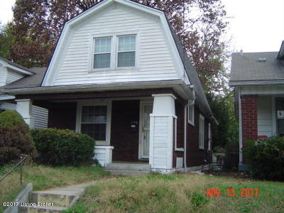 Louisville Single Family Home For Sale: 1749 W Gaulbert Ave