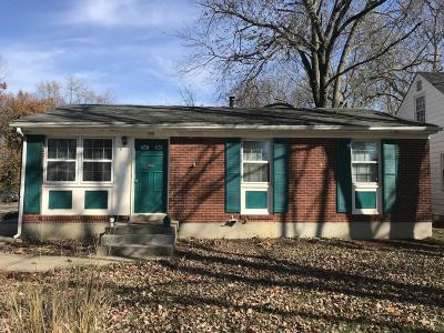 Louisville KY Single Family Home For Sale: $121,900