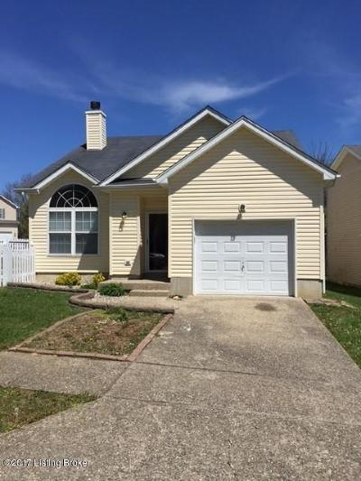 Jeffersontown Rental For Rent: 4321 Willowview Blvd