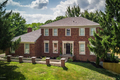 Oldham County Single Family Home Active Under Contract: 13010 Pine Hill Ct