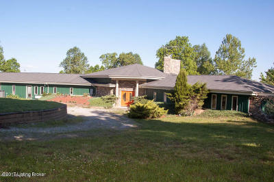 Mammoth Cave Single Family Home For Sale: 2413 Dickey Mill Rd