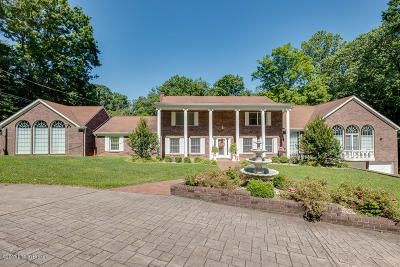 Shepherdsville Single Family Home For Sale: 4911 Hickory Hollow Ln