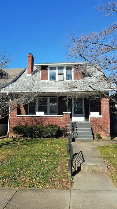 Louisville Rental For Rent: 3015 Wentworth Ave